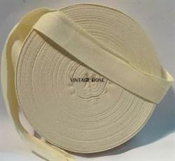 Лента киперная для натяжки ткани на станок, 25 мм, 1 метр - фото 11962