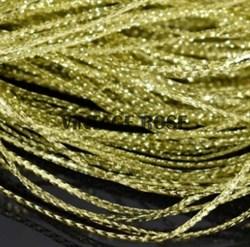 Сутаж тонкий,  золото, 1 мм - фото 12923