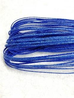 Сутаж металлизированный диаметр 1,9 мм Синий - фото 15199