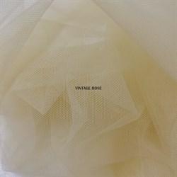 Сетка для люневильской вышивки Tulle, цвет 506 Salmone (песочный), Италия - фото 15379