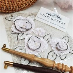 Онлайн мастер -класс белые камелии от Шанель ( с материалами) - фото 17071