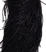 Граненный трунцал, 1 мм,  Черный