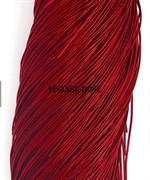 Канитель мягкая, 1 мм, Темно Красная
