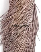 Канитель мягкая, 1 мм, Серо-розовый