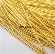 Канитель мягкая, 3 мм, Золото (Золотой)