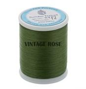 Нитки Sumiko Thread STP1-14 зеленые (для люневильской вышивки)