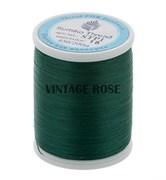 Нитки Sumiko Thread STP1-15 т.зеленые (для люневильской вышивки)