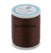 Нитки Sumiko Thread STP1-34 коричневый (для люневильской вышивки)