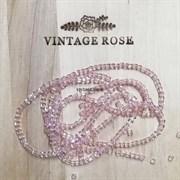 Граненые бусины, КУБ, розовые прозрачные, 2 мм, Чехия (Розовый, 2 мм)