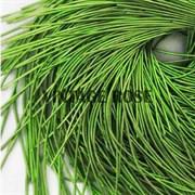 Канитель мягкая, 1 мм, Травяной глянцевый, 130 см (Зеленый)