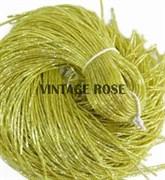 Граненный трунцал, 1 мм, Лимонный (Желтый)
