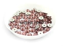 Пайетки хрустальные 4 мм винный 50 шт /уп (4 мм)