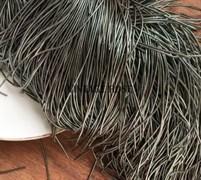 Канитель мягкая, 1 мм, темно-оливковая