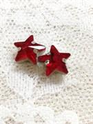 Стразы Звезды 10 мм. 3 шт/уп. Рубин