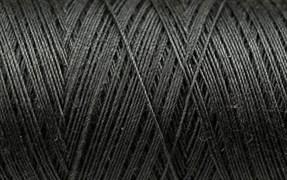 Нитки Cotton № 50/3, Aurora вощеные 200 метров Цвет 20857 ЧЕРНЫЙ