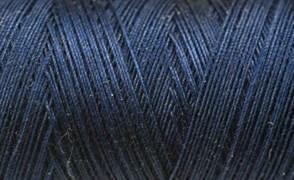 Нитки Cotton № 50/3, Aurora вощеные 200 метров Цвет 21246 СИНИЙ