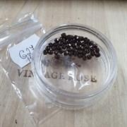 Чешские граненые бусины 3 мм бронза G27