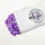 Пайетки 3мм плоские Св. Фиолетовые АВ #0059В/3мм Италия,  прозрачные АВ