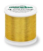 Нитки Madeira Metallic №40, 200м, Gold 8 (Золотой, 200 метров)