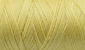 Нитки Cotton № 50/3, Aurora вощеные 200 метров Цвет 20961 СВЕТЛЫЙ ЛИМОН