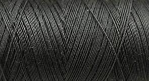 Нитки Cotton № 50/3, Aurora вощеные 200 метров Цвет 21234 УГОЛЬ