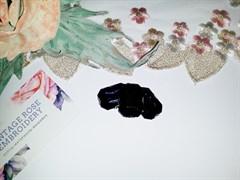 Стразы в цапах 18*25 мм, форма прямоугольник Фиолетовый