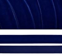Лента бархатная, цвет № 52-синий.Ширина 20 мм  (1метр)