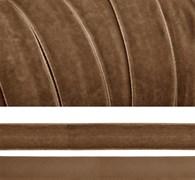 Лента бархатная, цвет № 07-горчичный.Ширина 20 мм  (1метр)
