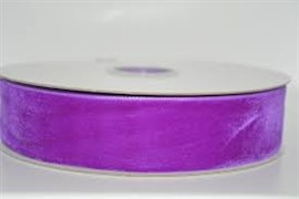 Лента бархатная, цвет № 55-аметист.Ширина 10 мм  (1метр)