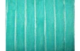 Лента бархатная, цвет № 77-тиффани.Ширина 10 мм  (1метр)