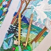 Люневильский крючок с 4-мя иглами бренда Vintage Rose Орех и Груша- Эксклюзив!