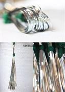 Бить серебряная для вышивки