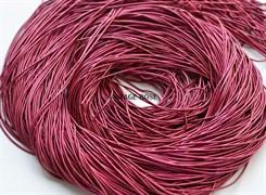 Канитель мягкая, 1 мм, розовая