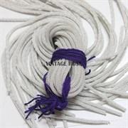 Канительный шнур, 4 мм, Серебро