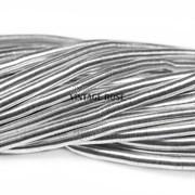 Канитель мягкая, 3 мм, серебро