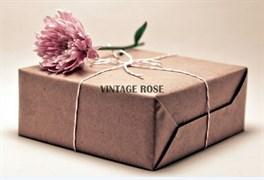 Стартовый Серебряный  набор для основ люневильской вышивки Vintage Rose
