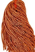 Граненный трунцал, 2,5 мм, Оранжевый